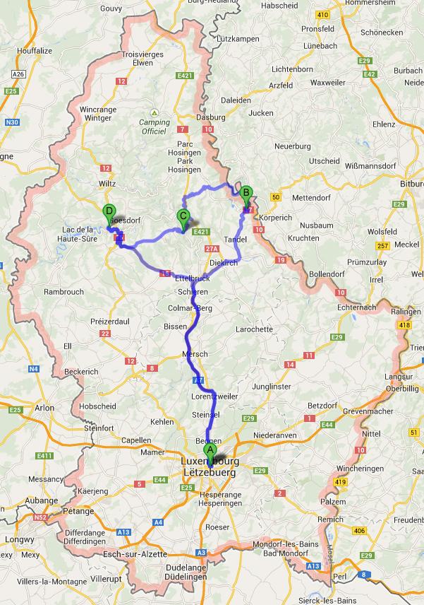 autoroute-luxemburg-vianden-bourscheid-esch-sur-sure