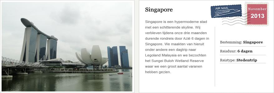kaart singapore onze reizen
