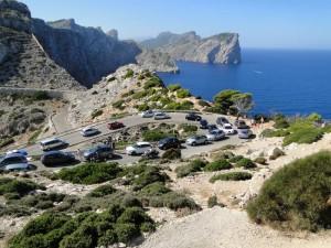 Chaos op de Cap des Formentor