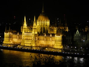 House of Parlement verlicht
