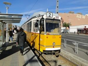 Tramlijn 2 Boedapest