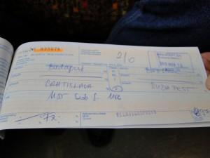Treinkaartje naar Bratislava