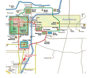 Angkor circuits