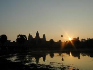 Angkor Watt zonsopkomst