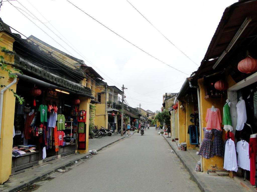 Straatjes in Hoi An