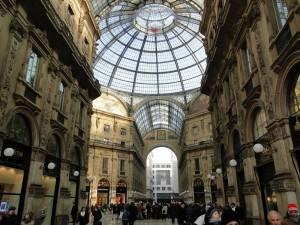 DE winkelpassage van milaan - Galleria Vittorio Emanuele II