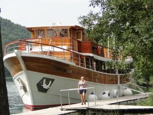 Boot Skradin - Krka Waterval