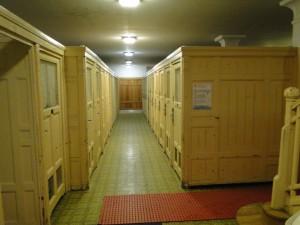 De Cabins van het Széchenyi Badhuis