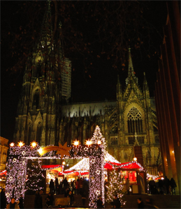 Kerstmarkt Keulen (avond)