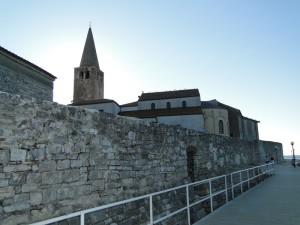 Stadsmuren van Porec