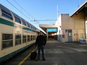 Trein naar Bergamo