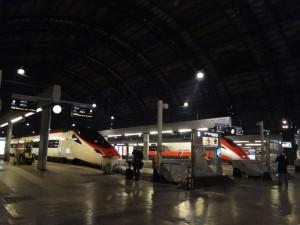 Treinstation Milaan centraal