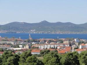 Uitzicht over Zadar
