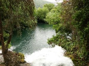 Vele beekjes en watervalletjes - Nationaal Park Krka
