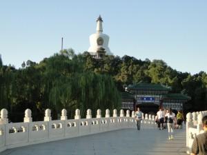 Beihai Park - De witte Pagoda