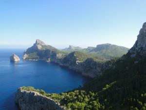 Cap des Formentor - Eerste uitzichtpunt