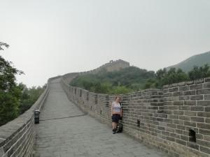 De Chinese muur (het linker gedeelte)