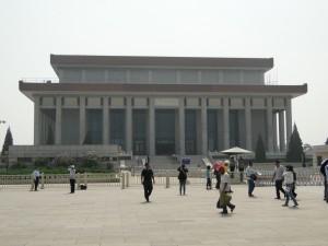 Het mausoleum van Mao Zedong