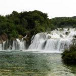Het Krka Nationaal Park in Kroatië: de Skradinski Buk waterval