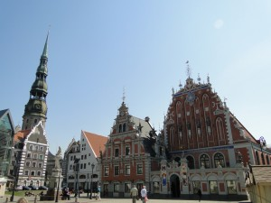 Riga - Zwarthoofdenhuis & Petruskerk