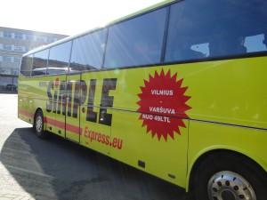 Simple Express Bus Tallinn Riga