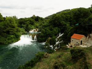 Skradinski-Buk-Waterval-bovenste-gedeelte