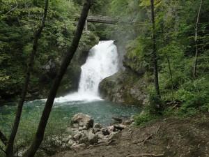 Slovenie – De Sum waterval (Vintgarkloof)