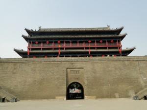 Xian - Toegangspoort Stadsmuur