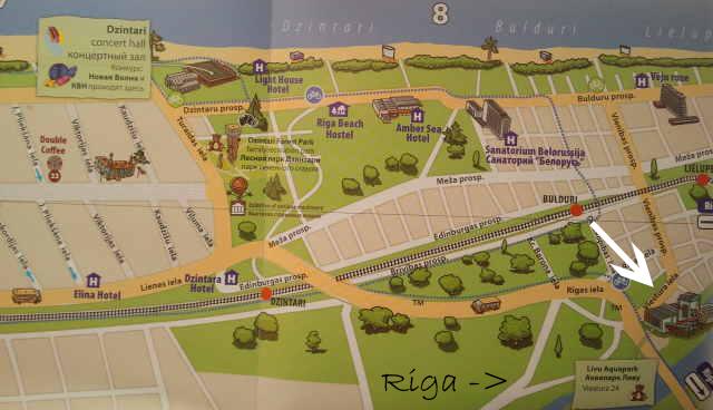 map jurmala livu akvaparks