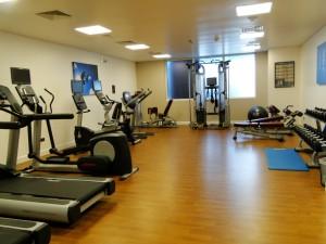 Abu Dhabi - Fitnesszaal Hotel Premier Inn Airport