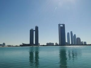 Abu Dhabi - Overkant van Marina Mall