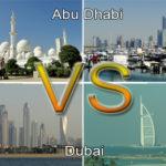 Abu Dhabi versus Dubai: de verschillen en overeenkomsten