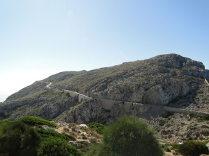 Mallorca - De weg naar Cap des Formentor