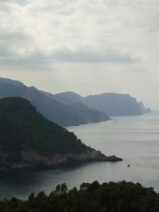 Mallorca - Spectaculair uitzicht op de kustlijn tussen Valldemossa en Andratx