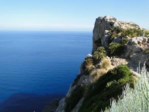 Mallorca - Uitkijkpunt op weg naar Cap des Formentor