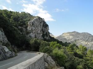 Mallorca - Weg tussen Pollença - Sóller