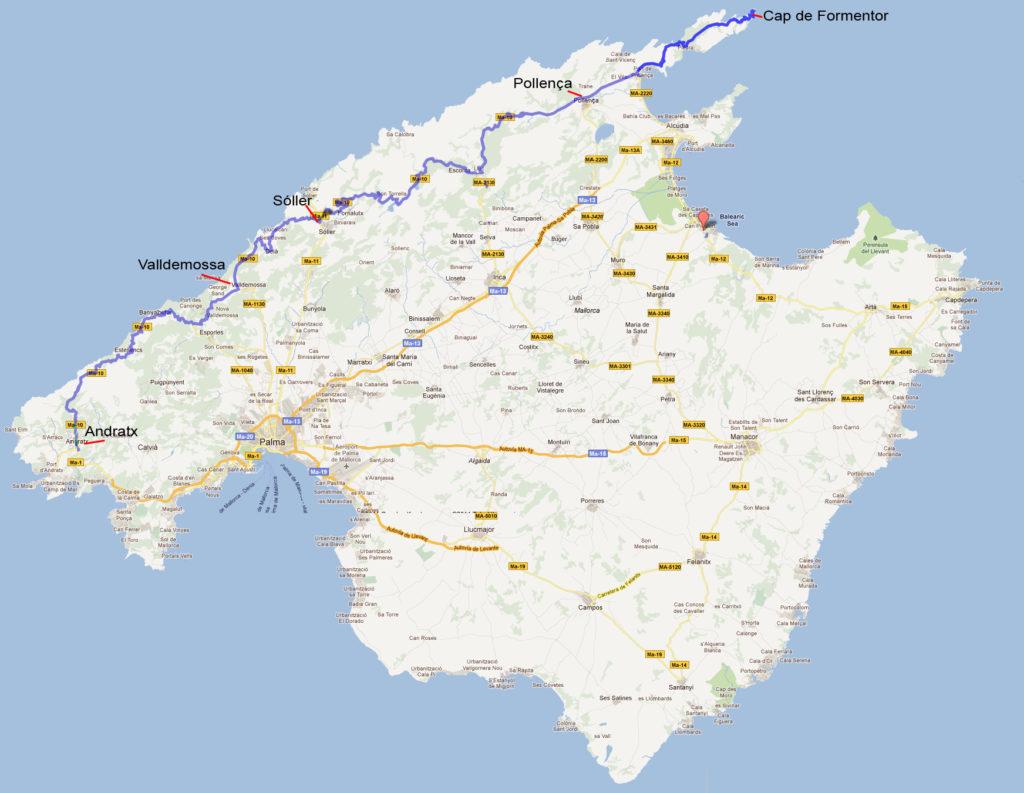 Mallorca mooiste autoroute - MA-10