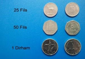 Verenigde Arabische Emiraten - Dirham munten