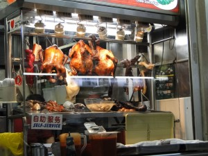 Eetstalletjes in de Tekka Market Singapore