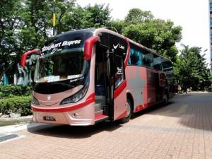 Singapore - Malaka bus Starmart