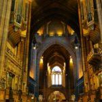 De kathedraal van Liverpool (Engeland): Anglican Cathedral