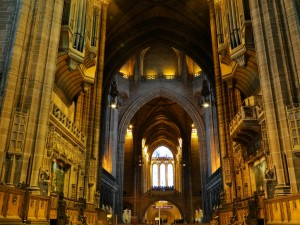 Anglican Cathedral Liverpool (kathedraal) - Binnenzijde