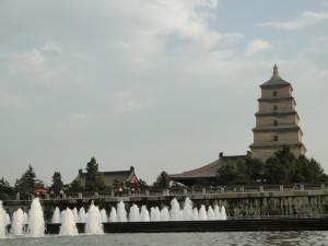 Xi'an Big Wild Goose Pagode