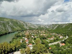 Herzegovina Pocitelj - Uitzicht vanaf burchttoren