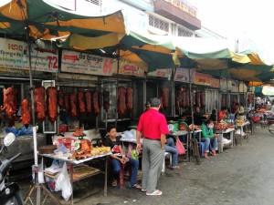Phnom Penh - Straatmarktjes