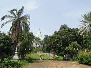 Phnom Penh - Wat Phnom (1)