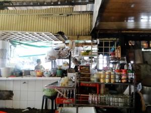 Cambodja Phnom Penh eetstalletje