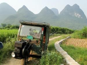 China omgeving Yangshuo wandelen (2)