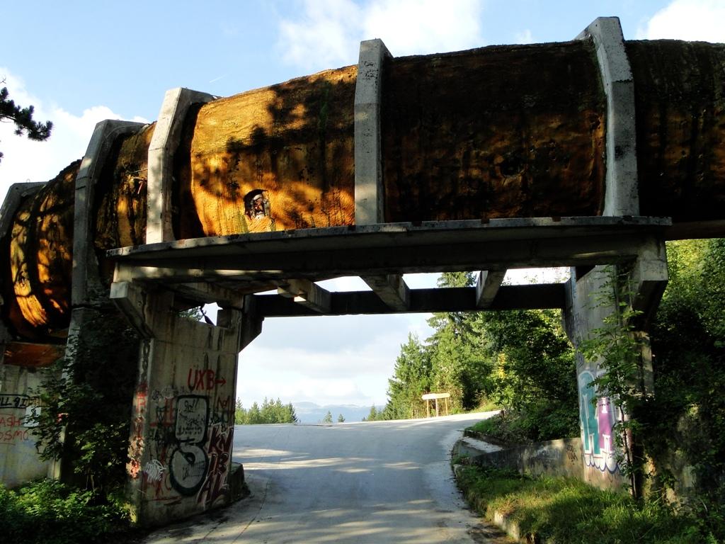 Sarajevo Bobsled track (1)