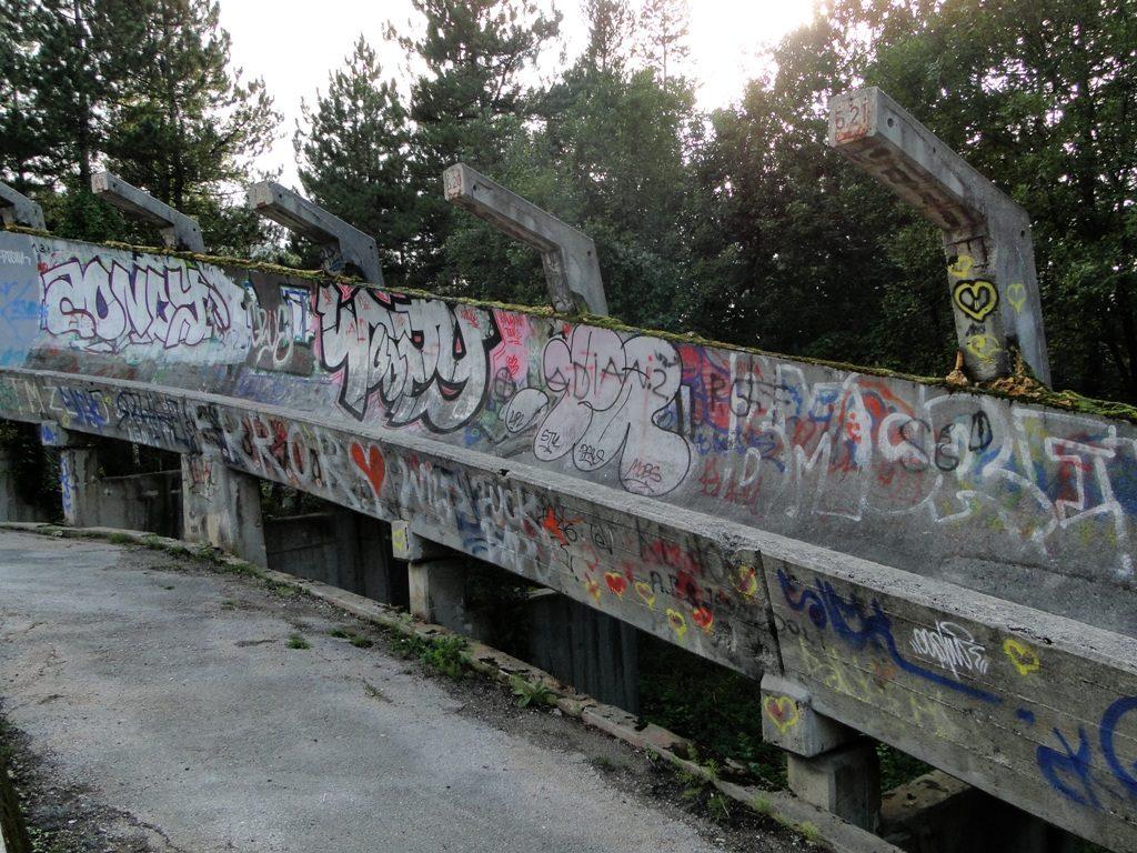 Sarajevo Bobsled track (2)